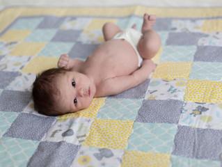 Newborn Photography Session: Natural Light Portraits. Mukilteo, WA