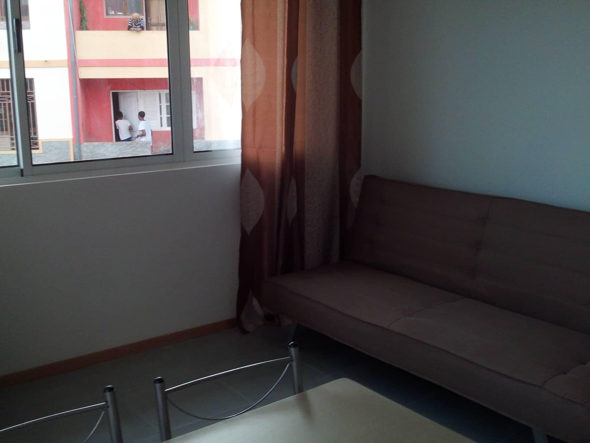 4 sofa and living room window