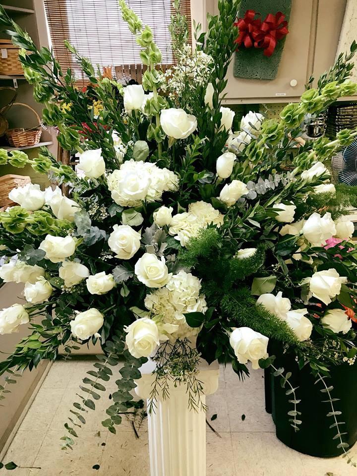 Funeral Podium Arrangement