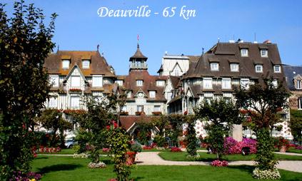 Deauville son casino ses plages