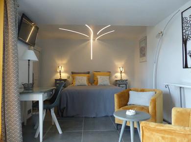 Chambre double lit 160*200