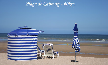 Cabourg et ses plages
