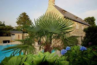 Au Jardin d'Etaville chambres hotes piscine cotentin