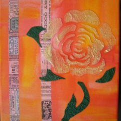 EDITORIAL ACRYLIC AND MIXED MEDIA ON CANVAS COLLECTION OF S. BOLLIG DORN