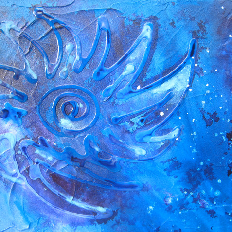 COSMOS ACRYLIC ON CANVAS PRIVATE COLLECTOR