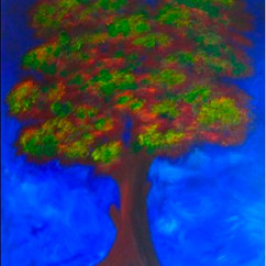 FANTASY ARBOL ACRYLIC ON CANVAS COLLECTION OF S. BROWN