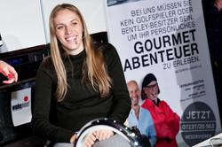 Kira Grünberg kocht bei Wohnpoint