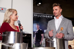 Leo Hillinger kocht bei Wohnpoint