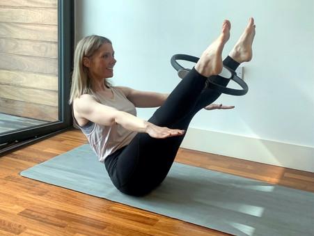 Pilates equipment.