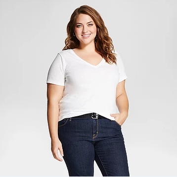 plus size tee shirt