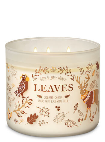 Candles are a fall must-have