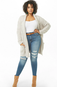 forever21 plus size cardigan