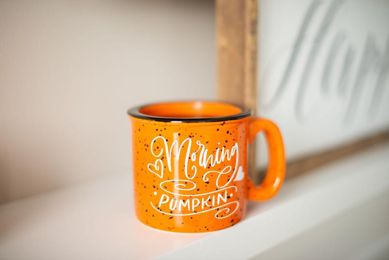 Fall mugs for warm drinks are a seasonal must-have.