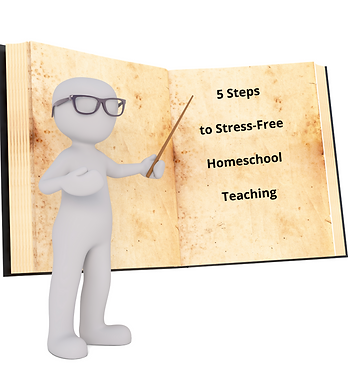 5 Steps to Stress-Free Homeschool Teachi