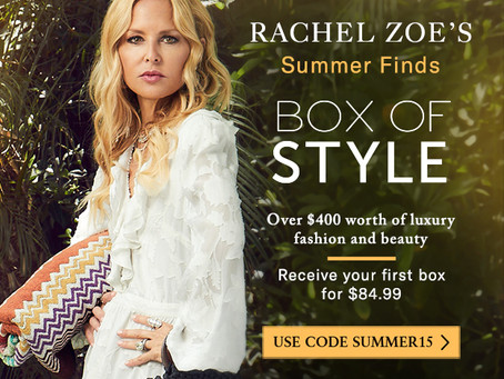 Celebrity fashion designer Rachel Zoe styles you! (for less than $2 a day)