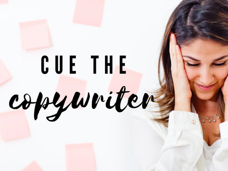 Running your own business? Here is why YOU need a Copywriter.