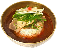 Gom Tang Korean Traditional Broth Rice