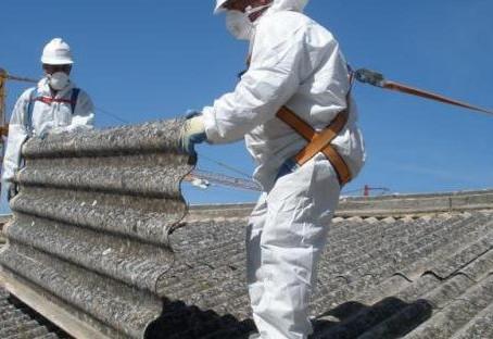 Hvordan trygt fjerne asbest?