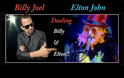 Dueling Billy and Elton - Rock Piano Singer Florida