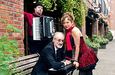 French cabaret trio Rouge