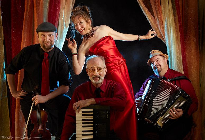 Hot Parisian Gypsy Jazz Quartet