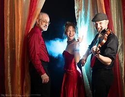 Rouge French Parisian classics music trio
