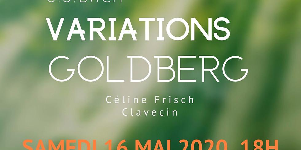 Les Variations Goldberg par Céline Frisch