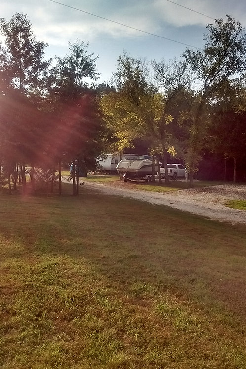 Yearly Rate for RV Park Stay on Sunny Side with Concrete Pad
