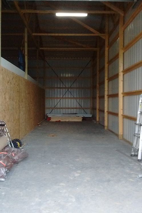 Yearly Extra Large Storage - Concrete Pad +