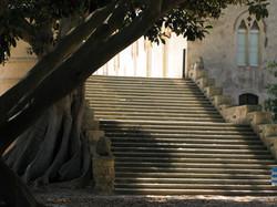 Donnafugata scalinata