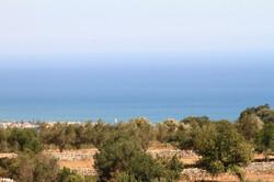 Vista mare da Lanzagallo