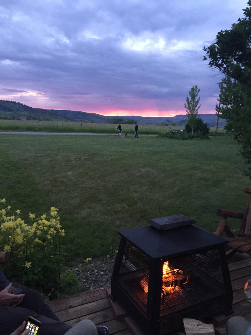 Glorious ummer evenings