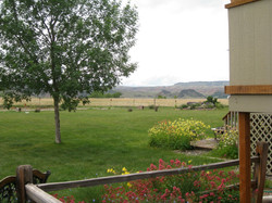 Scenic view, large yards