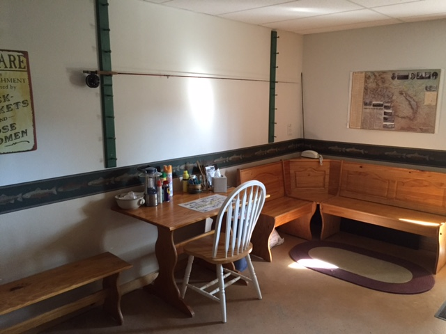 Inside Gear Room