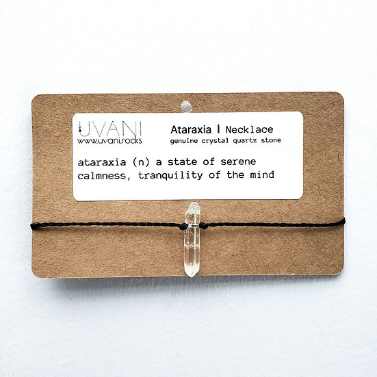 ataraxia   necklace