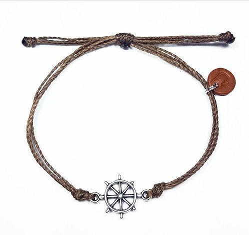 Men's Helm Bracelet-Bark