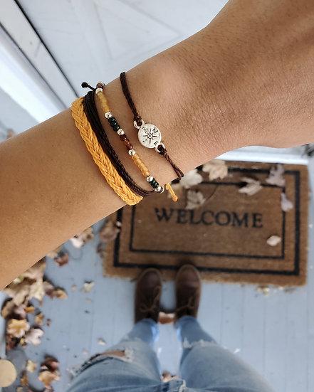 compass bracelet | stack