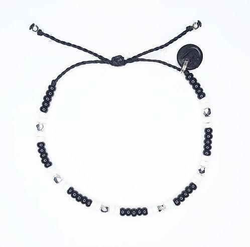 Panda Seed Bead Bracelet