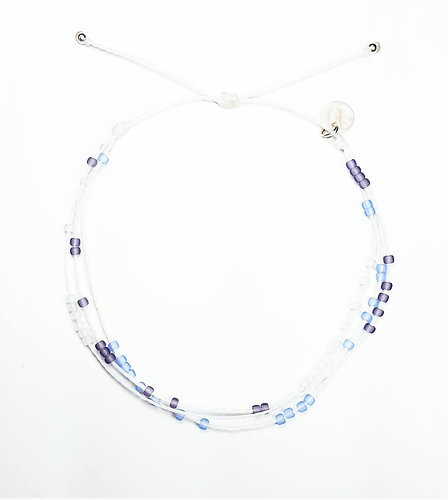 anklet made sea custom order bracelet genuine glass products