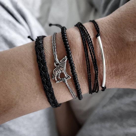 wolf bracelet | stack