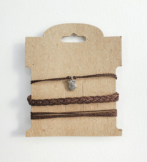 owl bracelet | stack