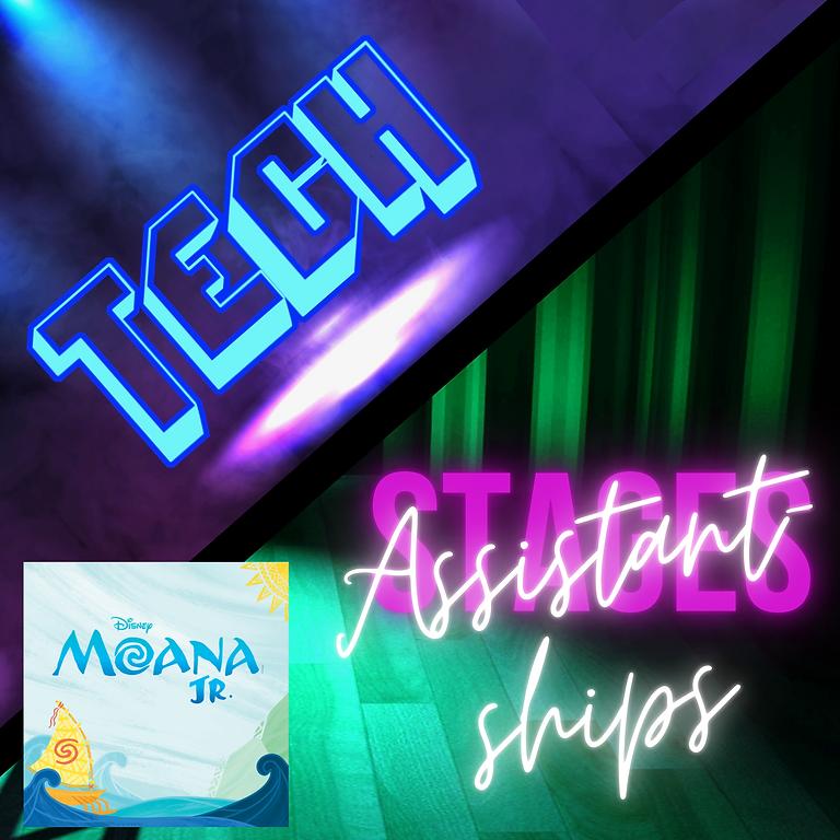 Tech/Assistantships: MOANA JR.