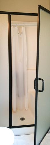 Framed Shower Obscure-Bronze