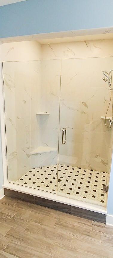 Frameless Shower Door and Panel Channel