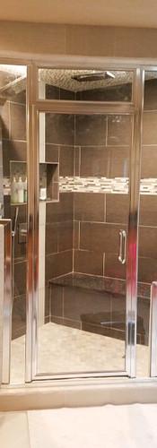 Framed Steam Shower-Chrome