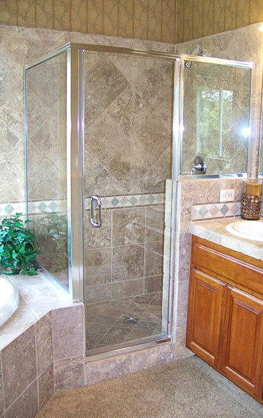 Framed 3 Unit Shower-Chrome