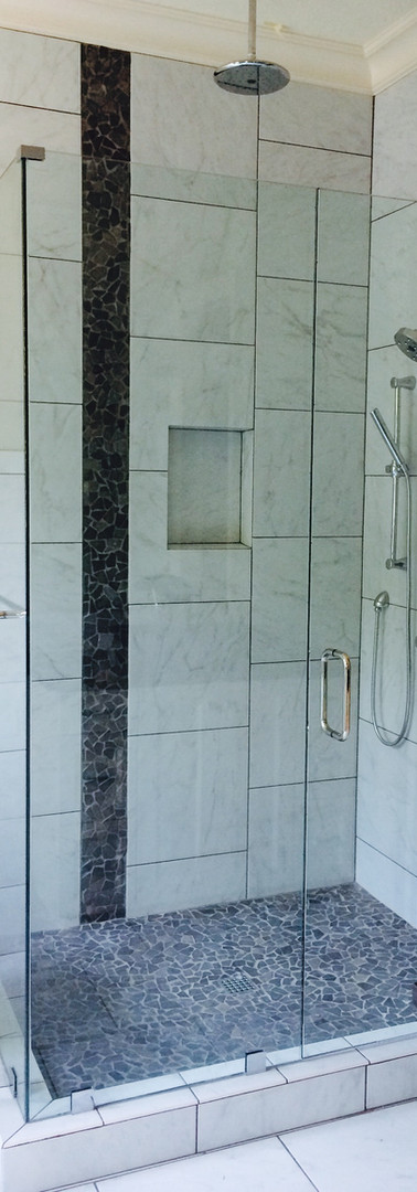 Frameless- Chrome with Clamps