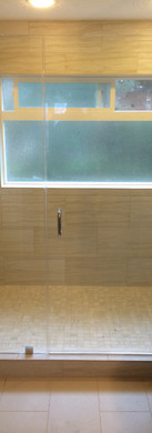 Chrome,Frameless with Clamps