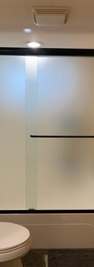 Slider With Inline Panel Satin Etch
