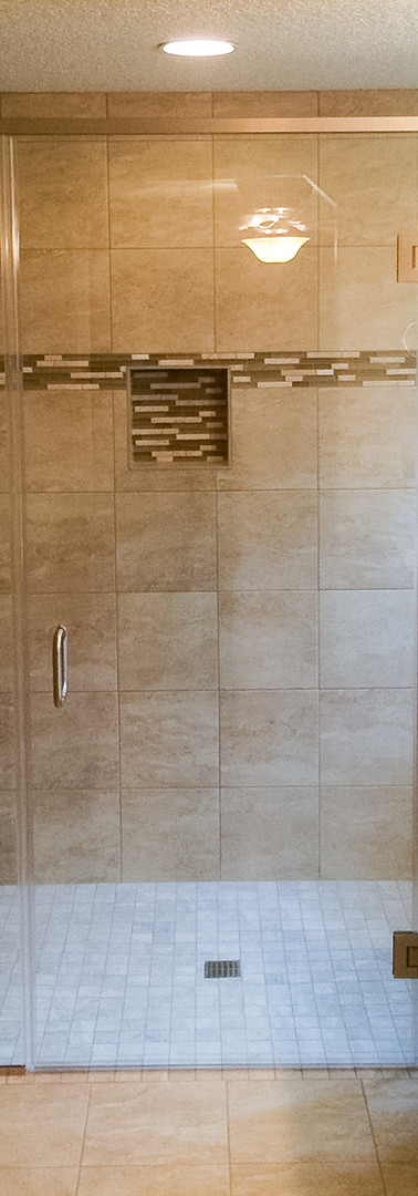 Unique Frameless Shower Flat Header